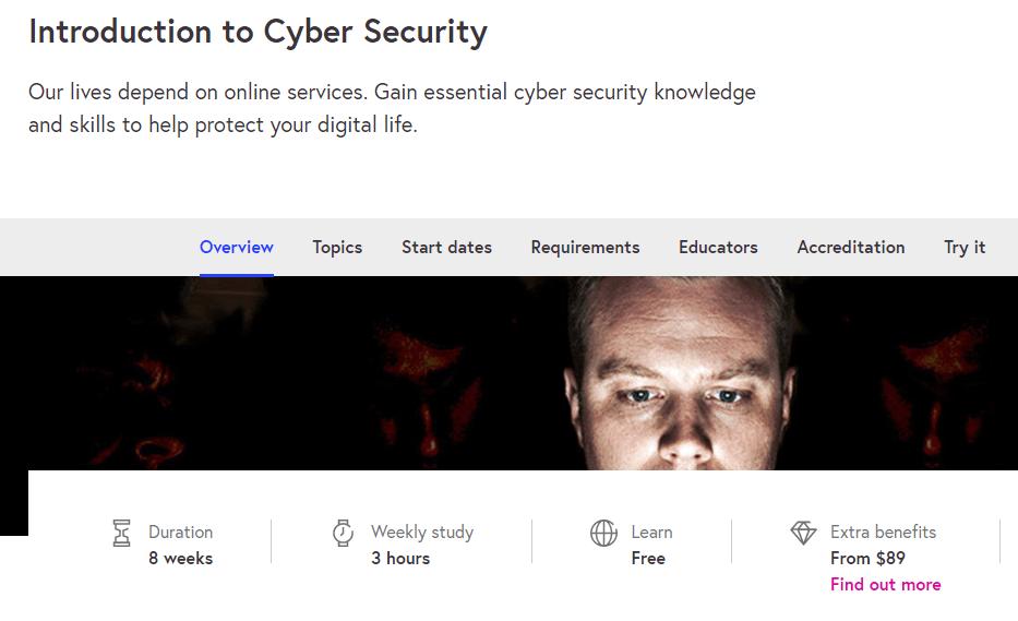 Introduction to Cyber Security-course