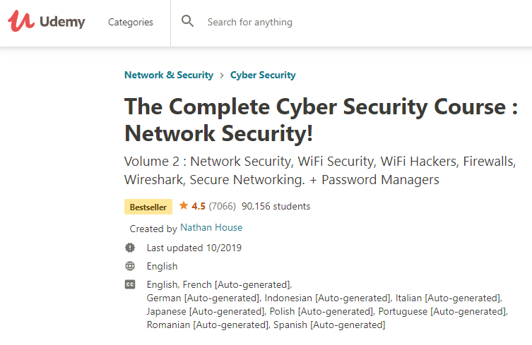 Network Security-course