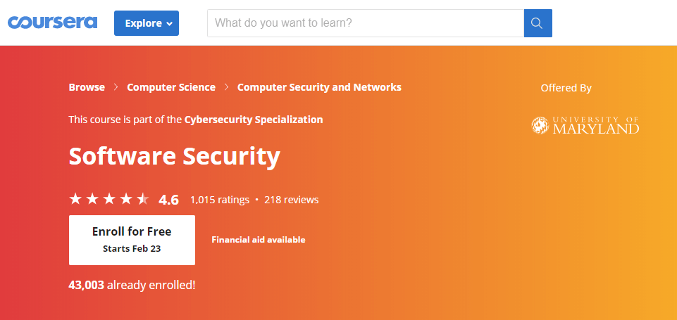 Software-Security-course